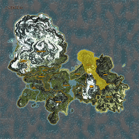 Goldenforst highlighted on Enderal map.