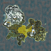 The Heartlands highlighted on Enderal map.