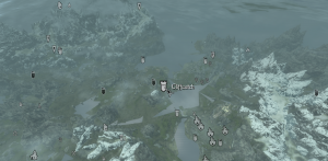 Cliffwatch on the map