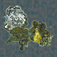 King's Mountain Pass highlighted on Enderal map.