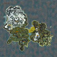 Farmers Coast highlighted on Enderal map.