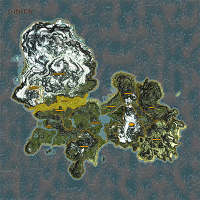 Dark Valley highlighted on Enderal map.
